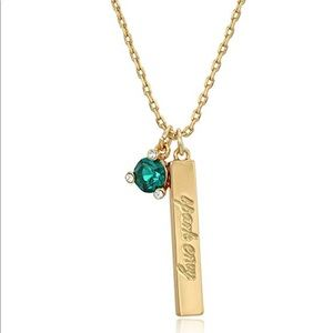 Kate Spade Born to be May Pendant Necklace